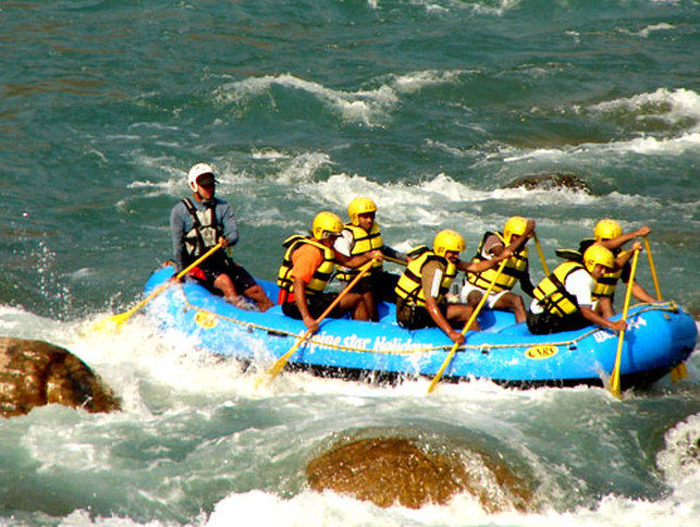 Rafting Offered by Alpinestar Holidays